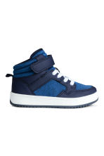 Hi-top trainers - Cornflower blue -  | H&M 1