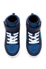 Hi-top trainers - Cornflower blue -  | H&M 2