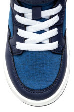 Hi-top trainers - Cornflower blue -  | H&M 3