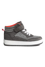 Hi-top trainers - Grey marl - Kids | H&M 1