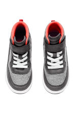 Hi-top trainers - Grey marl - Kids | H&M 2