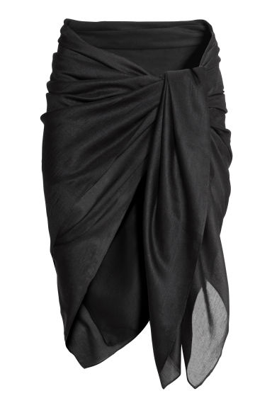 Sarong - Black - Ladies | H&M CN 1