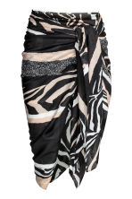 Patterned sarong - Zebra pattern - Ladies | H&M CN 1
