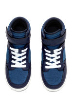 Hi-top trainers - Blue - Kids | H&M CN 2