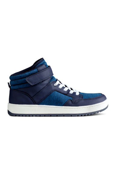 Hi-top trainers - Blue - Kids | H&M CN 1
