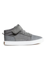 Hi-top trainers - Dark grey - Kids | H&M CN 2