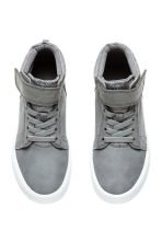 Hi-top trainers - Dark grey - Kids | H&M CN 3