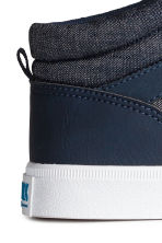 Hi-top trainers - Dark blue -  | H&M 4