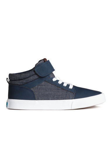 Hi-top trainers - Dark blue - Kids | H&M CN 1