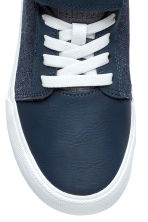 Hi-top trainers - Dark blue -  | H&M 3