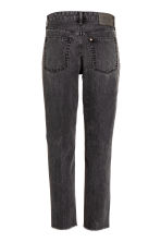 Vintage High Cropped Jeans - Svart denim - DAM | H&M FI 4