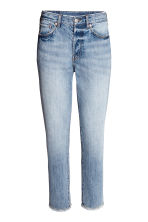 Vintage High Cropped Jeans - Denim blue - Ladies | H&M 2