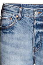 Vintage High Cropped Jeans - Denim blue - Ladies | H&M 4