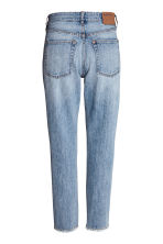 Vintage High Cropped Jeans - Blu denim - DONNA | H&M IT 3