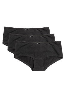 3-pack shortie briefs