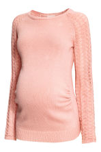 MAMA Fine-knit jumper - Powder pink - Ladies | H&M 2