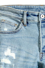 Skinny Low Trashed Jeans - Light denim blue - Men | H&M 5