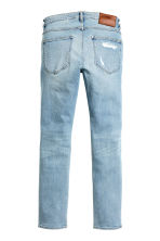 Skinny Low Trashed Jeans - Light denim blue - Men | H&M 4