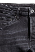 Skinny Low Trashed Jeans - Noir washed out - HOMME | H&M FR 4