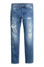 Skinny Low Trashed Jeans - Denim blue - Men | H&M 2