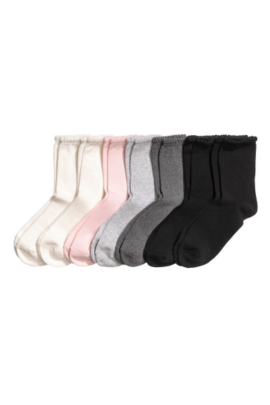 7-pack socks - Black - Kids | H&M 1