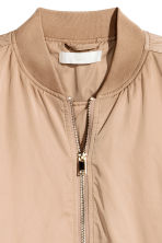 Oversized bomberjack - Beige - DAMES | H&M BE 3