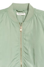 Bomber jacket - Mint green - Ladies | H&M CN 3
