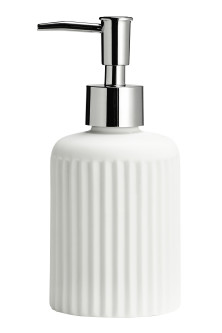 Porcelain soap dispenser