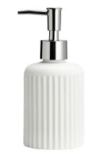 Porcelain soap dispenser - White - Home All | H&M CN 2