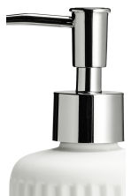 Porcelain soap dispenser - White - Home All | H&M CN 3