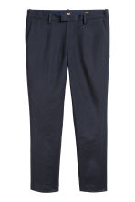 Pantaloni da completo Slim fit - Blu scuro - UOMO | H&M IT 2