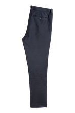 Pantaloni da completo Slim fit - Blu scuro - UOMO | H&M IT 3