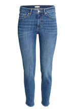 Slim Regular Jeans - Denim blue/Worn - Ladies | H&M GB 2