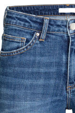 Slim Regular Jeans - Denim blue/Worn - Ladies | H&M GB 4