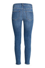 Slim Regular Jeans - Denim blue/Worn - Ladies | H&M GB 3