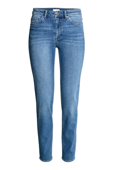 Slim Regular Jeans - Azul denim/Lavado - SENHORA | H&M PT 1