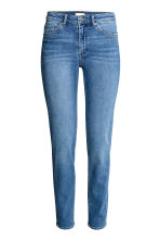 Slim Regular Jeans - Denim blue/Washed - Ladies | H&M CN 1