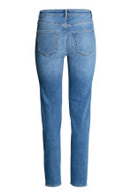 Slim Regular Jeans - Denim blue/Washed - Ladies | H&M CN 2