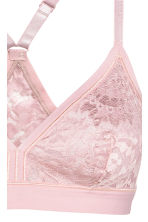 Bralette in pizzo - Rosa vintage - DONNA | H&M IT 4