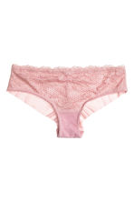 Lace hipster briefs - Vintage pink - Ladies | H&M CN 2
