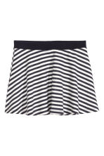 Circular skirt - Black/White/Striped - Kids | H&M 2