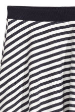 Circular skirt - Black/White/Striped - Kids | H&M 3