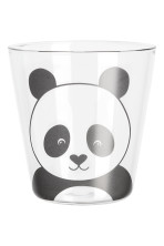 Clear glass/Panda