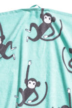 Drap de douche à motif animal - Turquoise/singe - Home All | H&M FR 2
