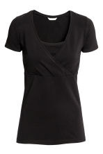 MAMA 2-pack nursing tops - White/Black - Ladies | H&M CN 4