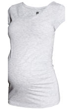 MAMA 2-pack tops - Light grey/Dark blue - Ladies | H&M CN 5