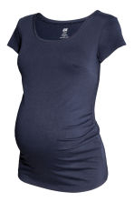 MAMA 2-pack tops - Light grey/Dark blue - Ladies | H&M CN 4