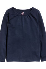 2-pack long-sleeved tops - Dark blue - Kids | H&M 3
