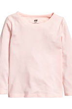 2-pack long-sleeved tops - Light pink -  | H&M CN 3