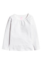 2-pack long-sleeved tops - White - Kids | H&M 3